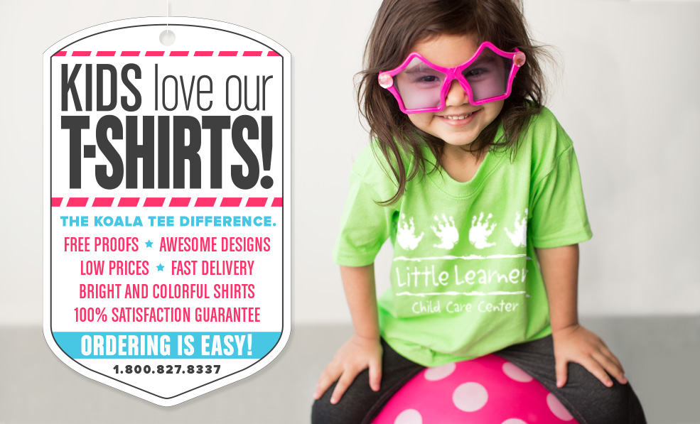 86ac1e53e292 Kids love our t-shirts!